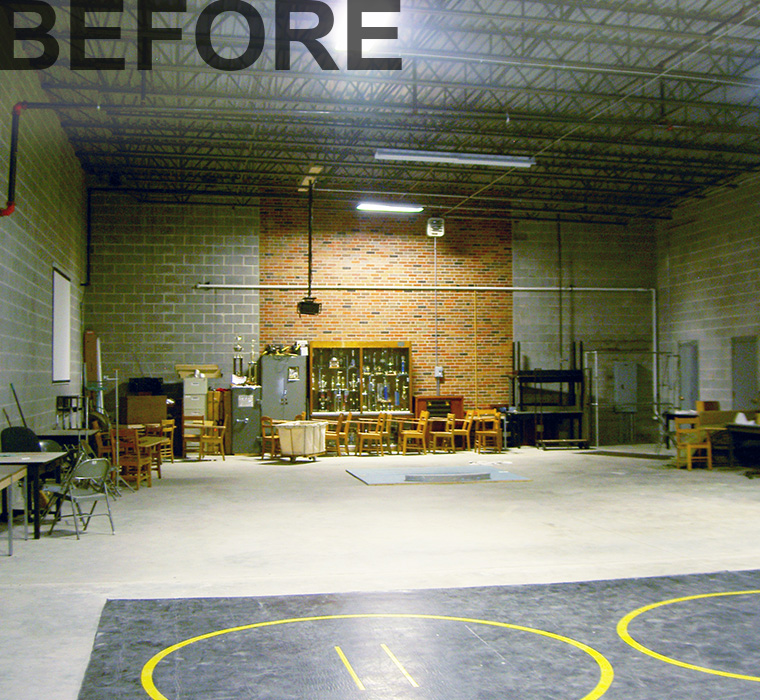 MS&T Rec Center Fitness - Before